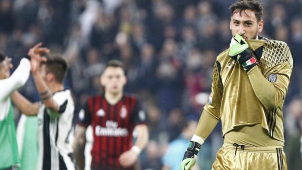 Gli Autogol instagram quiz Juventus - Milan dal rigore di De Sciglio nel recupero a Gigio Donnarumma che bacia la maglia