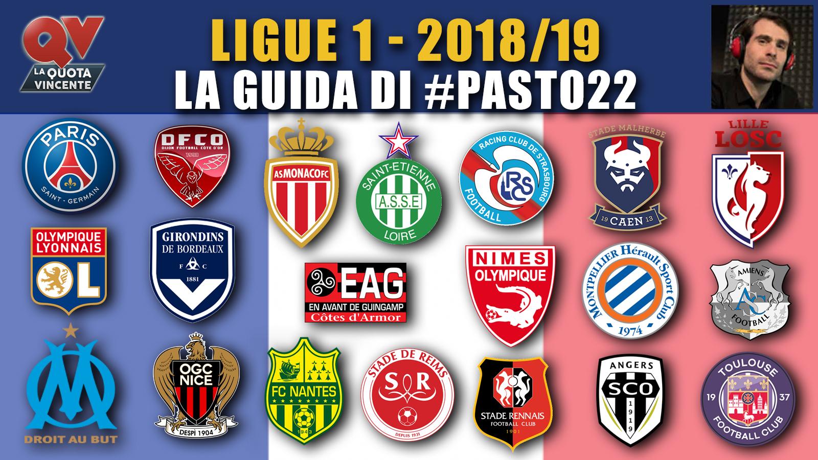 Probabili formazioni Ligue 1 pronostici 2018 2019