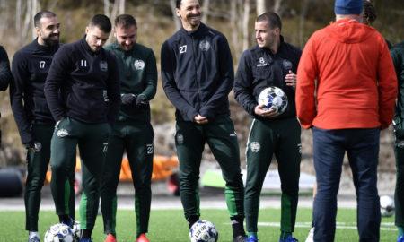 Coronavirus, Ibrahimovic si allena a Stoccolma con l'Hammarby