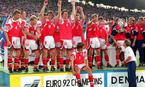 Il percorso incredibile della Danimarca ad Euro 1992. Semifinale Europei 2021 Inghilterra - Danimarca