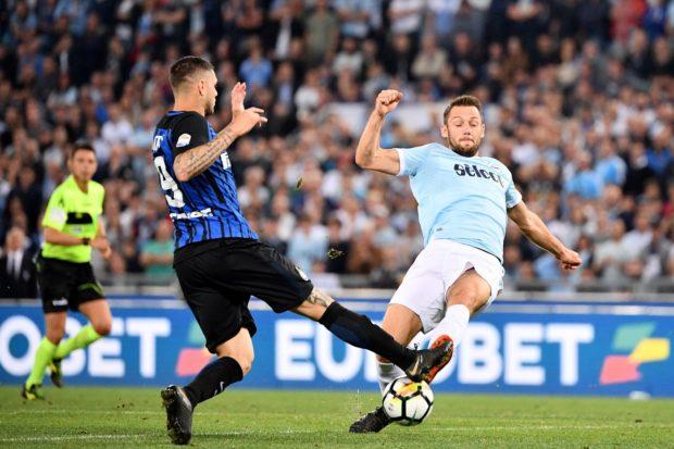 Lazio-Inter Stefan De Vrij Mauro icardi