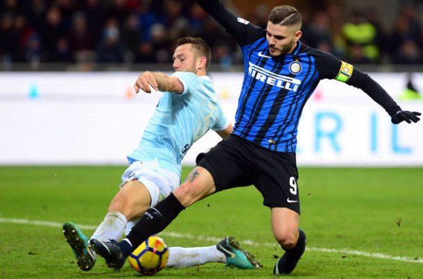 Lazio-Inter De Vrij rigore su Icardi