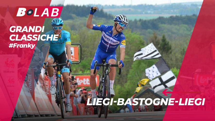 Liegi-Bastogne-Liegi 2019: favoriti, analisi del percorso e tutti i consigli per provare la cassa insieme al B-Lab nel blog di #Franky!