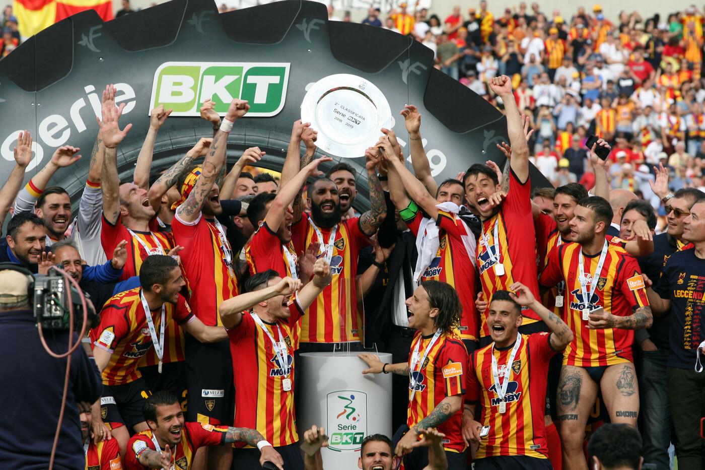 Serie B promosse Brescia e Lecce
