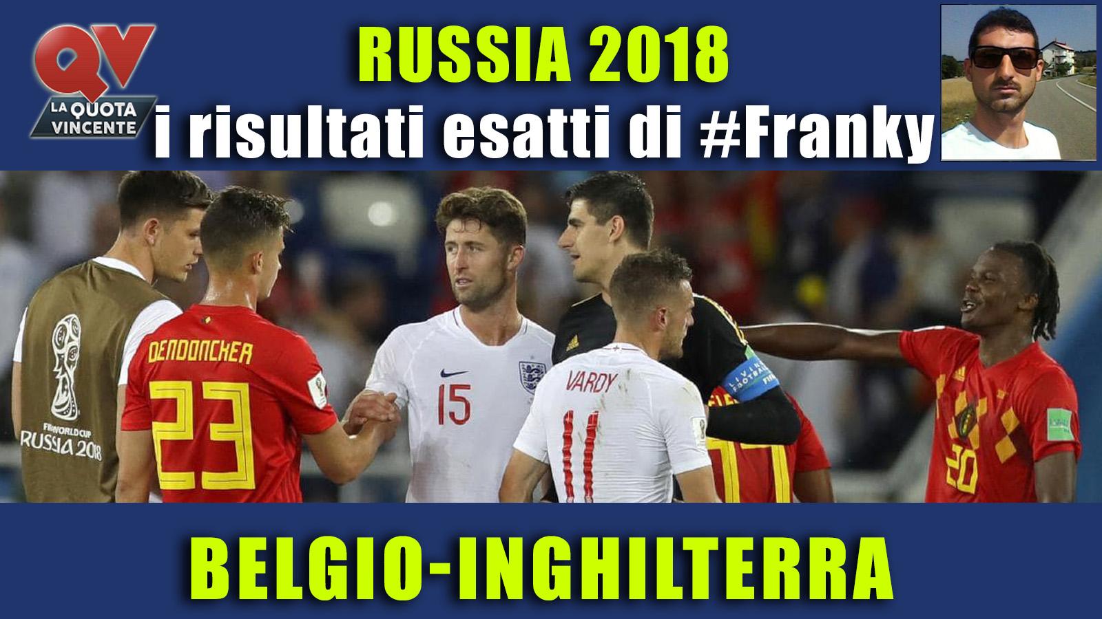 Pronostici risultati esatti Mondiali 14 luglio: le scelte di #FrankyDefa