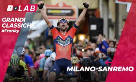 Milano-Sanremo 2019: favoriti, analisi del percorso e tutti i consigli per provare la cassa insieme al B-Lab nel blog di #Franky!