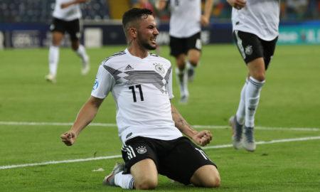 Austria-Germania 23 giugno: si gioca per la terza giornata del gruppo B degli Europei Under 21. Tedeschi vicini alla semifinale.