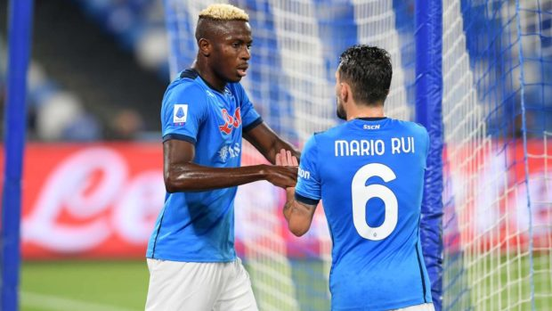 Gli Autogol instagram quiz Mario Rui Osimhen Roma-Napoli