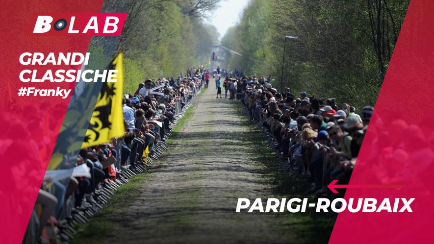 Parigi-Roubaix 2019: favoriti, analisi del percorso e tutti i consigli per provare la cassa insieme al B-Lab nel blog di #Franky!