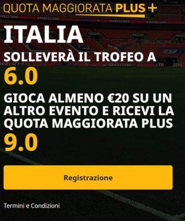 Pronostici chat Blab Live quota maggiorata finale Europei 2021 Italia - Inghilterra Vincente Euro 2020 Italia