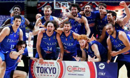 Qualificati Italia Olimpiadi Tokyo 2021 L'Italbasket compie l'impresa contro la Serbia e vola a Tokyo dopo 17 anni dall'ultima qualificazione ad una Olimpiade Atene 2004