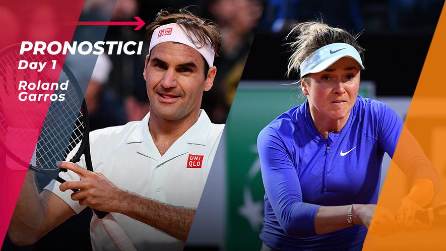 Tennis RG19 Day 1