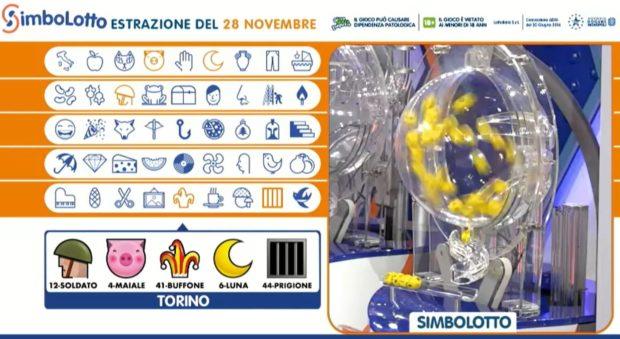 Simbolotto lotto oggi estrazioni lotto 10elotto simbolotto numeri e simboli vincenti verifica vincite di sabato 28 novembre 2020