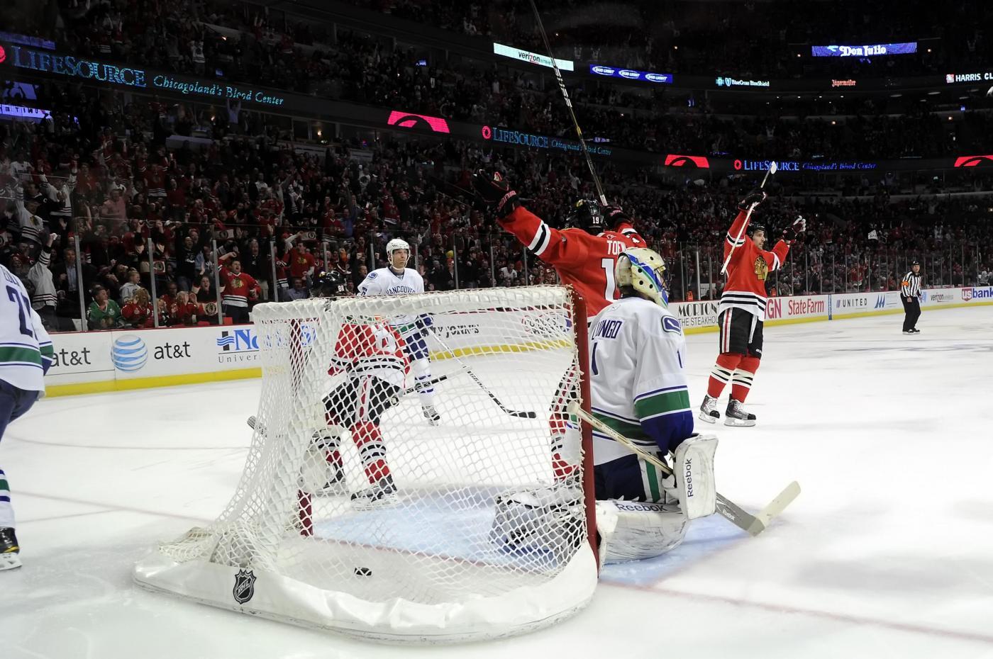 NHL 30 ottobre