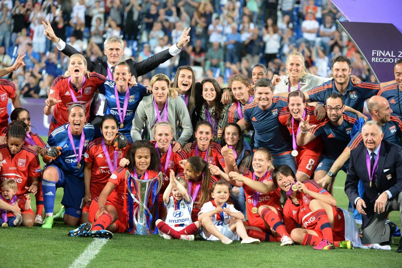 Champions Donne, Wolfsburg-Lione giovedì 24 maggio: francesi per il tris