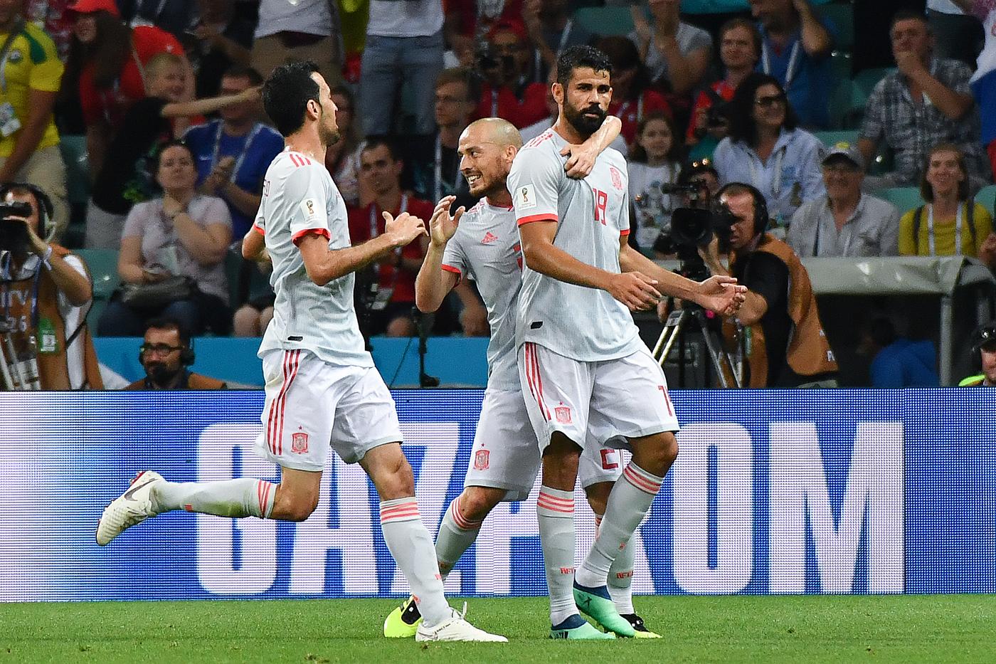 Spagna-Marocco lunedì 25 giugno, analisi e pronostico Mondiali Russia 2018 girone B terza giornata