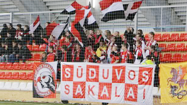 A Lyga mercoledì 22 maggio. In Lituania 12ma giornata della A Lyga. Suduva primo a quota 27, +2 sul Zalgiris secondo