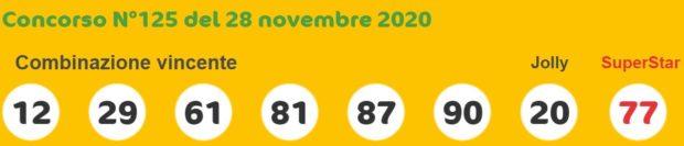 Estrazioni del lotto e del superenalotto di oggi sabato 28 novembre 2020 estrazione superenalotto in diretta