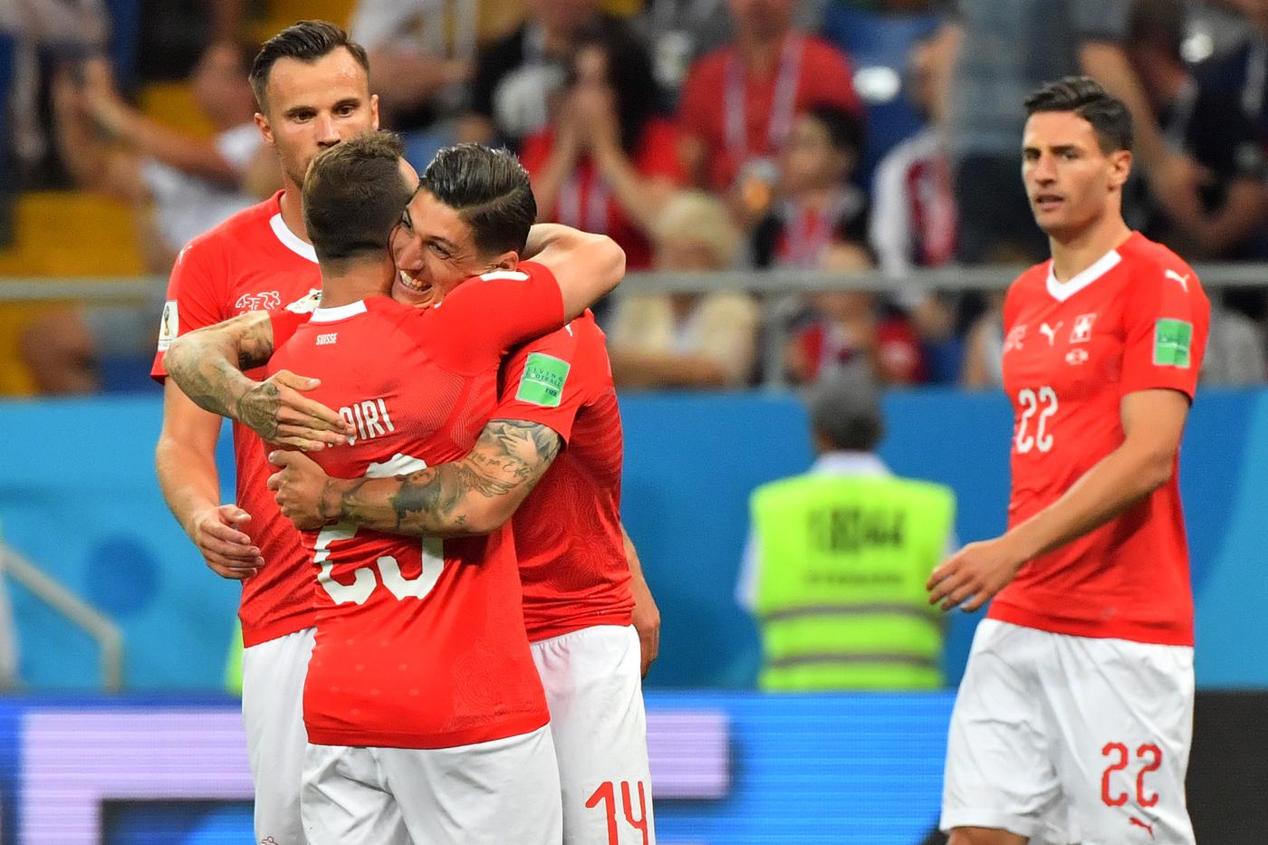 Serbia-Svizzera venerdì 22 giugno, analisi e pronostico Mondiali Russia 2018 girone E