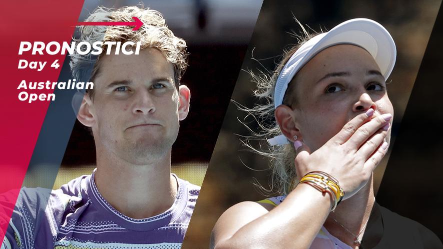 Tennis Australian Open 2020 Day 4