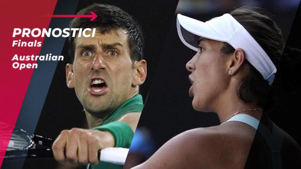 Tennis Australian Open 2020 Finali: I Pronostici del PROF!