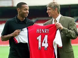 Thierry Henry ritiro Arsenal