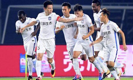 Cina Super League domenica 2 giugno. In Cina 12ma giornata della Super League. Beijin Guoan primo con 30 punti, +2 sullo Shanghai SIPG