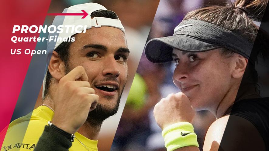 Tennis US Open 2019 Quarti di Finale