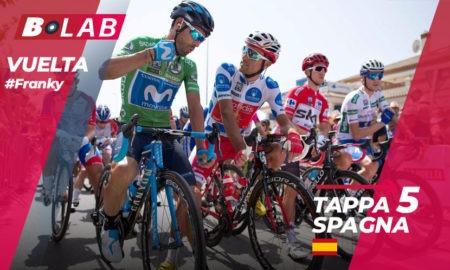 Pronostico La Vuelta 2018 favoriti tappa 5: Granada-Roquetas de Mar, i consigli per provare la cassa insieme al B-Lab!