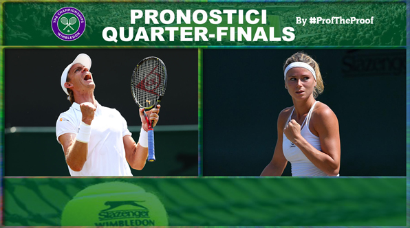 Tennis Wimbledon 2018 Quarti di Finale