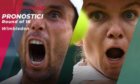 Tennis Wimbledon 2019 Ottavi di Finale
